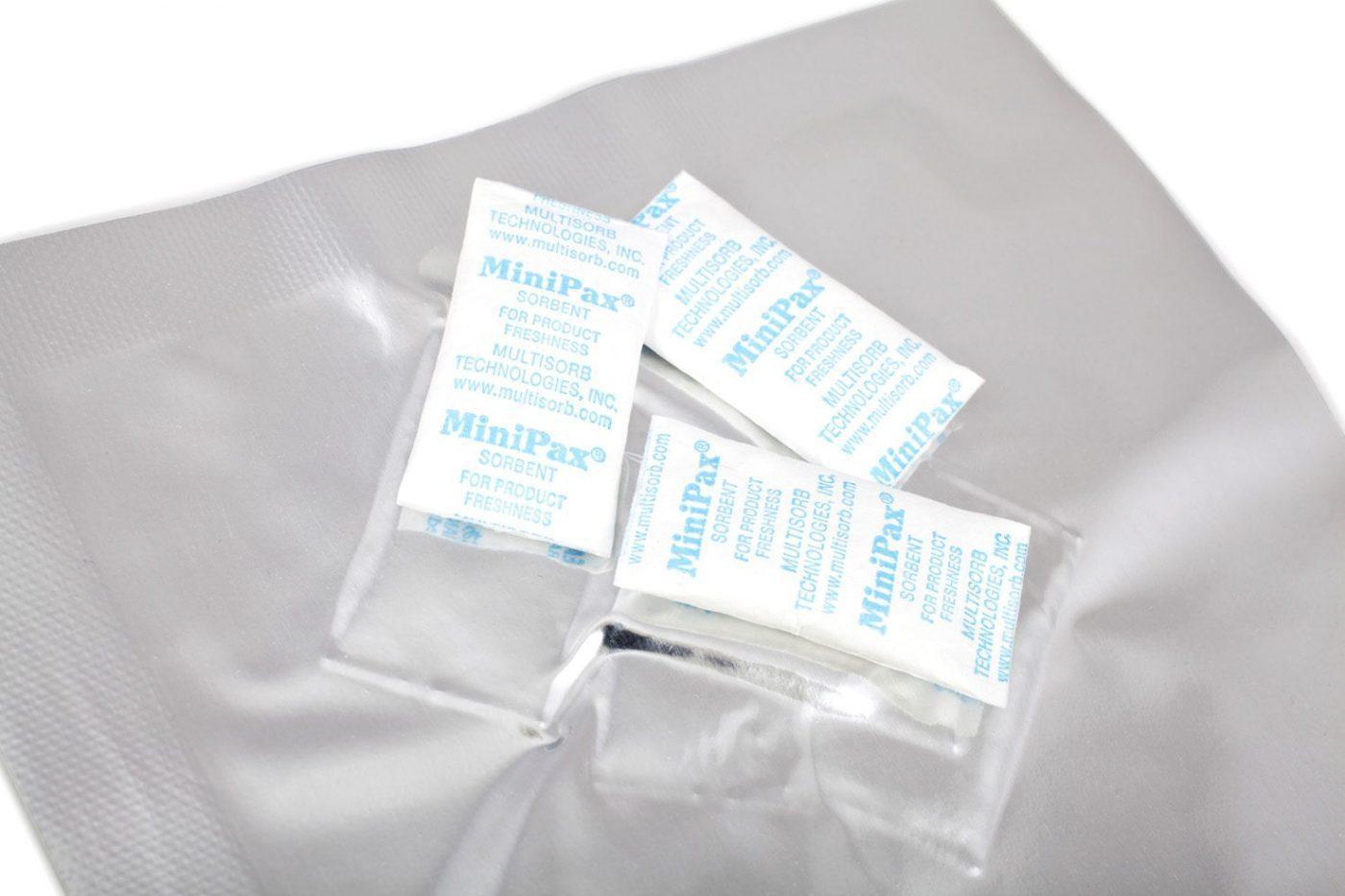 Minipax Silica Gel