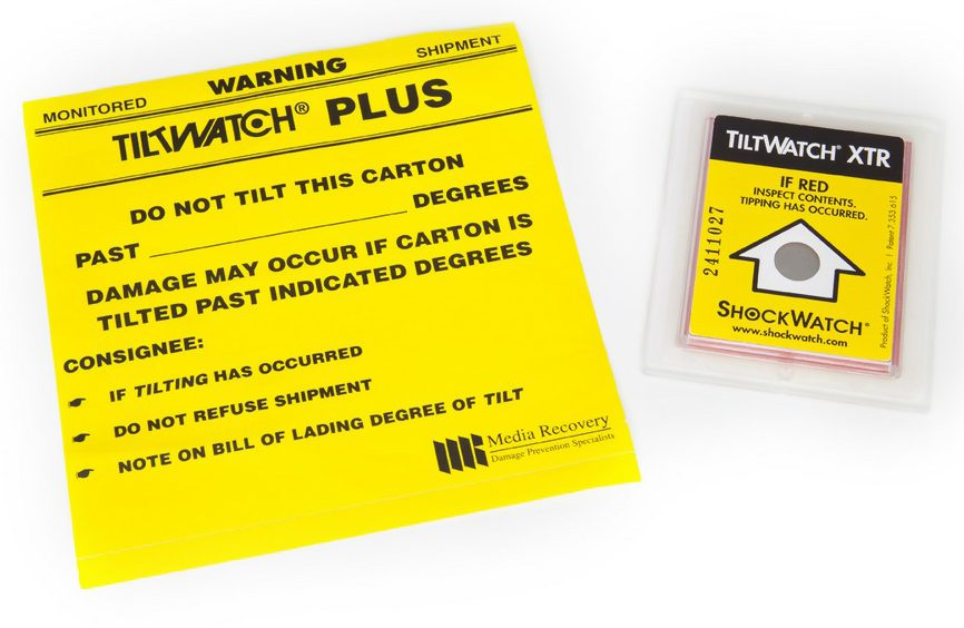 Tiltwatch Labels