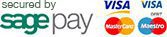 Secured Payment Options by Sagepay