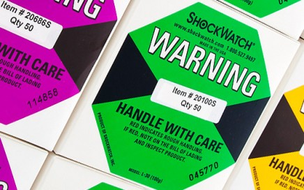 Shockwatch Shipping Labels The Preferred Solution