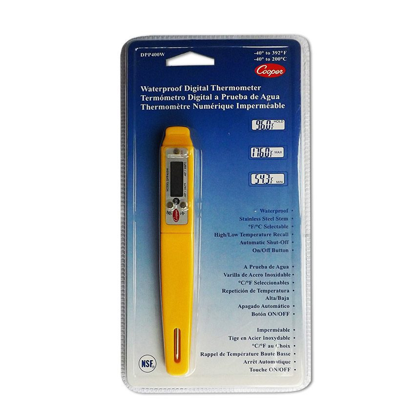 Food Temperature Probe - Waterproof Pen Style