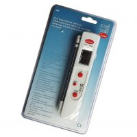 Laser Thermometer with Dual Temperature Probe