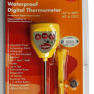 Digital Food Thermometer Waterproof