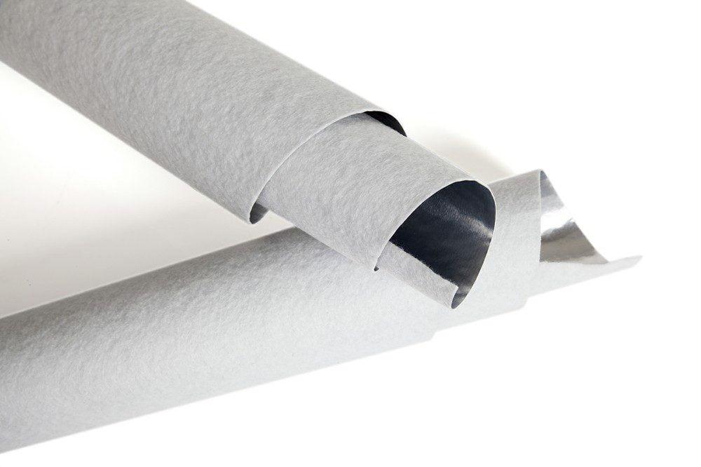 Papel de aluminio no tejido de poliéster peludo