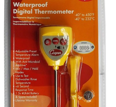 Digital Food Thermometer Waterproof