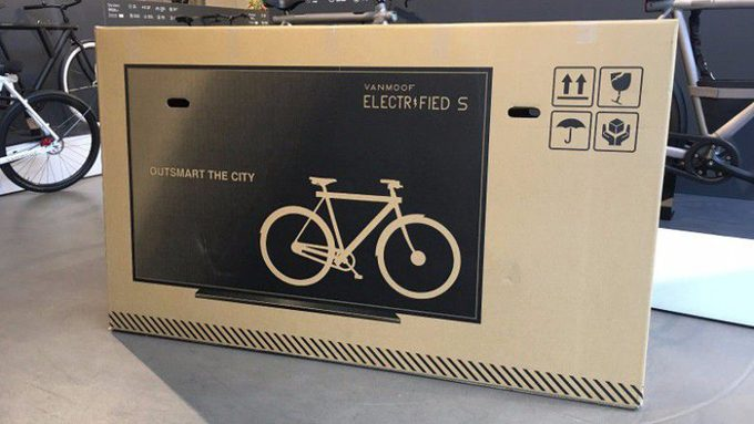 This Is Sneaky! A Bike Company in Holland Has Prints Picture of TV on Packaging, Reduces Shipping Damage 80%