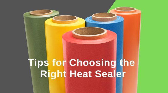 We share our top tips when choosing Valdamark Heat Sealer Machines | Valdamark